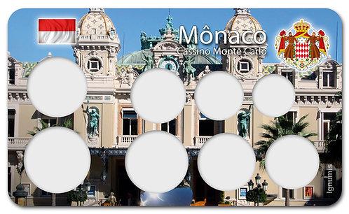 Display Expositor para Moedas do Euro - Mônaco