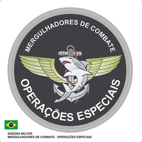 Adesivo Operações Especiais Mergulhadores de Combate