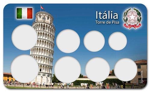 Display Expositor para Moedas do Euro - Itália