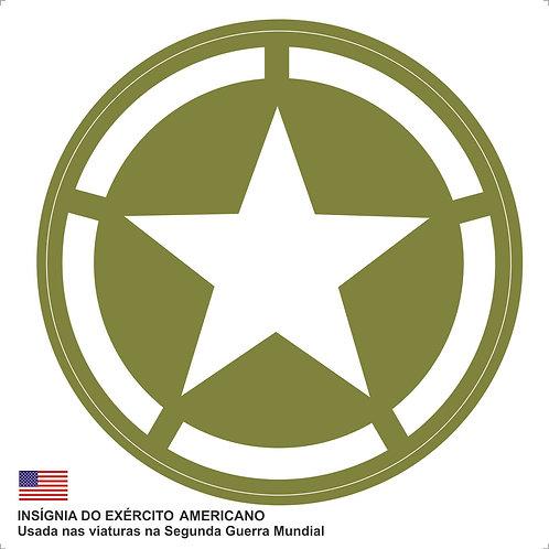 Adesivo Insígnia do Exército Americano