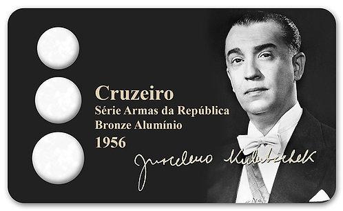 Display Expositor com Case para Moedas Cruzeiro - 1956