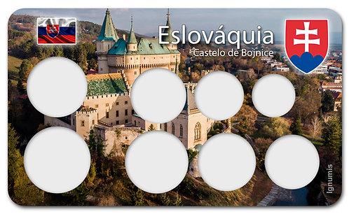 Display Expositor para Moedas do Euro - Eslováquia