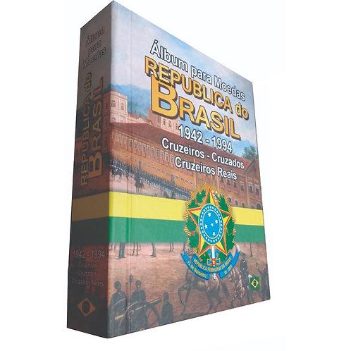 Álbum de Moedas do Brasil - República 1942 a 1944