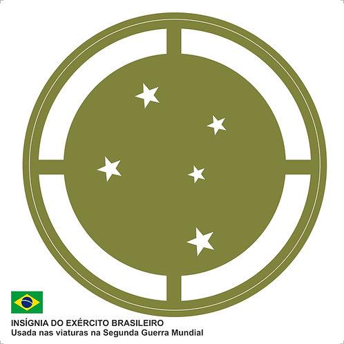 Adesivo Insígnia do Exército Brasileiro