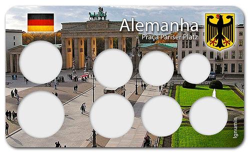 Display Expositor para Moedas do Euro - Alemanha