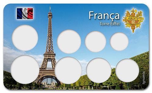 Display Expositor para Moedas do Euro - França