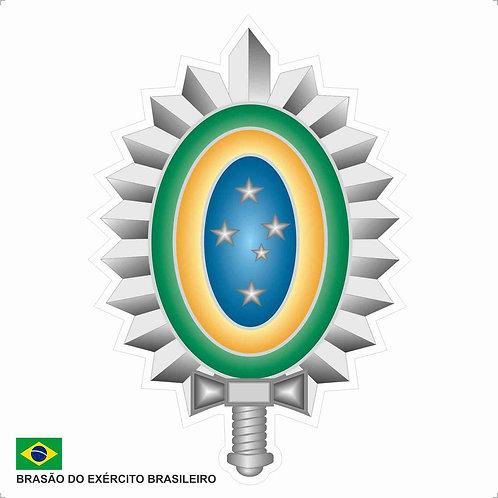Adesivo do Brasão do Exército Brasileiro