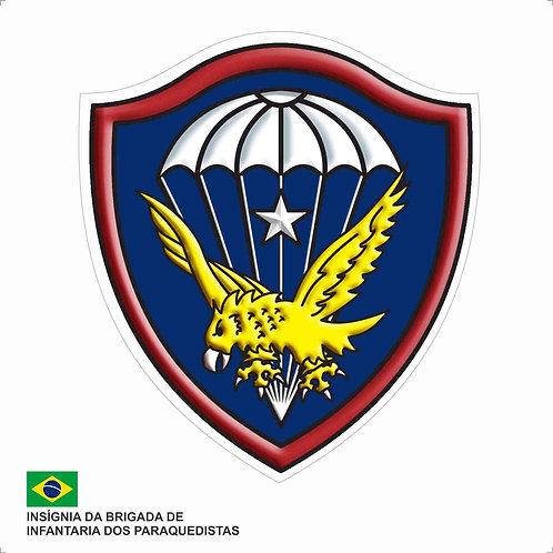 Adesivo da Insígnia da Brigada de Infantaria dos Paraquedistas