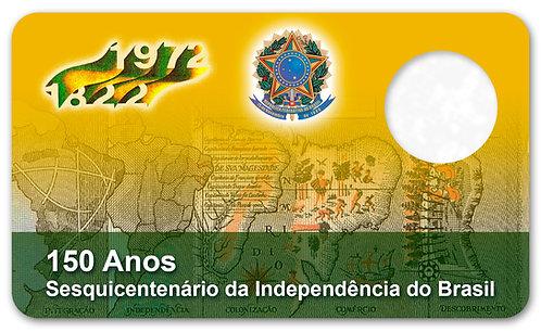 Display Expositor com Case para Moeda Cruzeiro - 1972