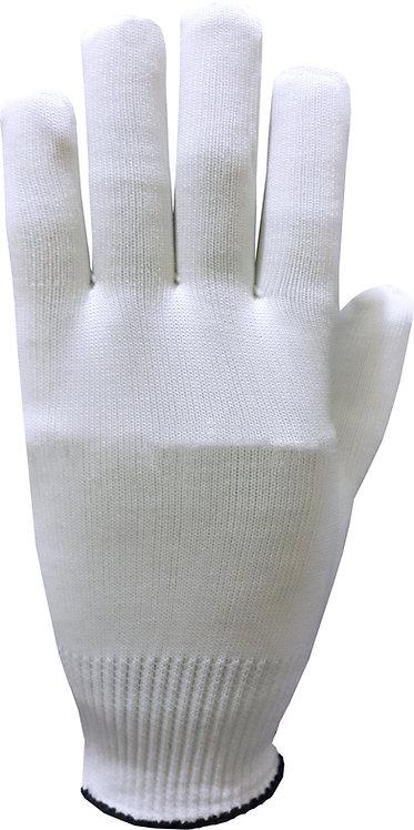 Luva Tricotada em Poliamida para Manuseio de Moedas e Cédulas - P/M/G