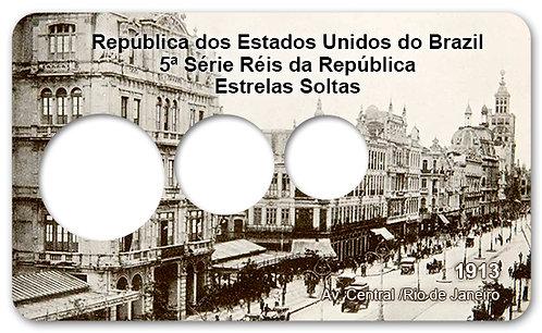 Display Expositor com Case para Moedas Série Réis - 1913