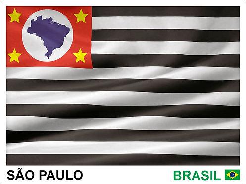 Kit Bandeiras Adesivas dos 26 Estados Brasileiros