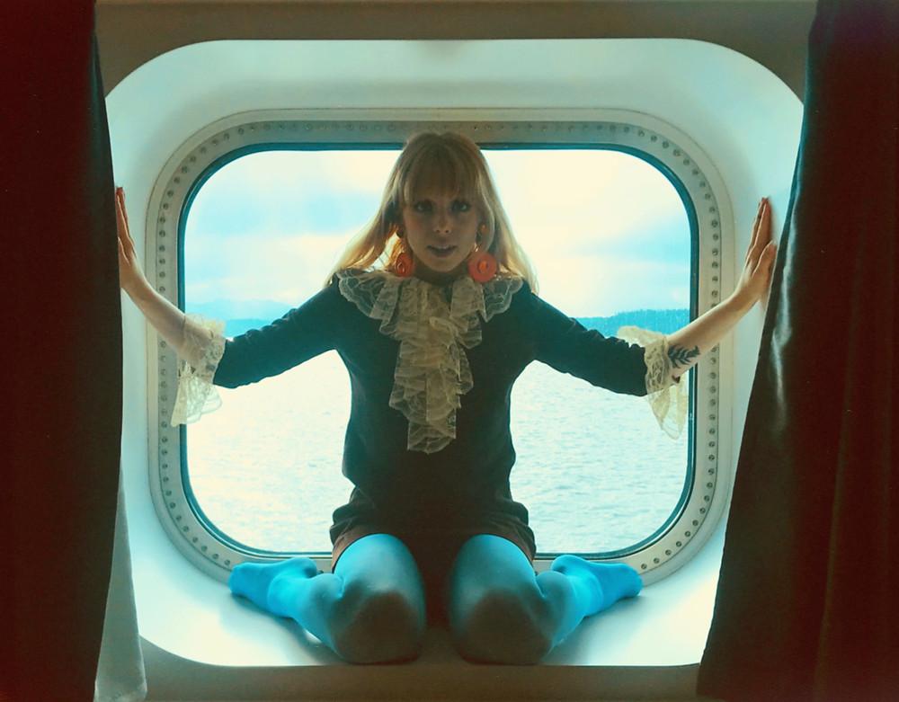 Devyn Crimson onboard the Norwegian Bliss