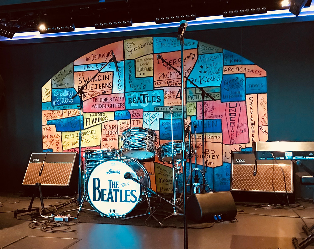 Beatlemania LIVE! stage in the Cavern Club onboard the Norwegian Bliss