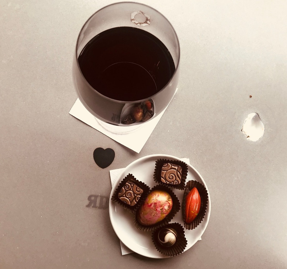 Our Chocolates & Wine