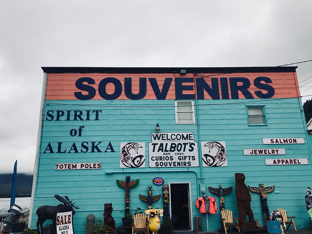 Souvenirs Ketchikan, Alaska
