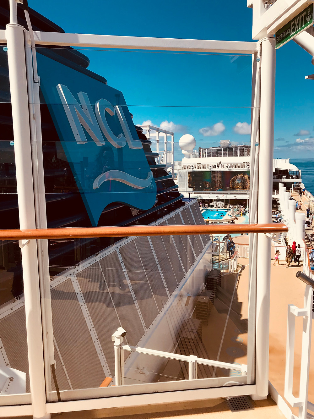 Norwegian Cruiseline. Bliss