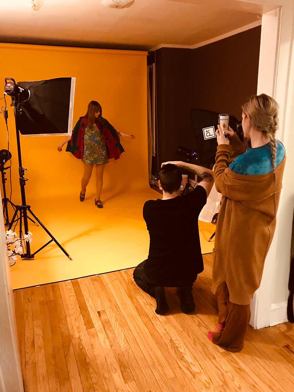Behind the scenes captured by Andrew starring Olivia & Jairo