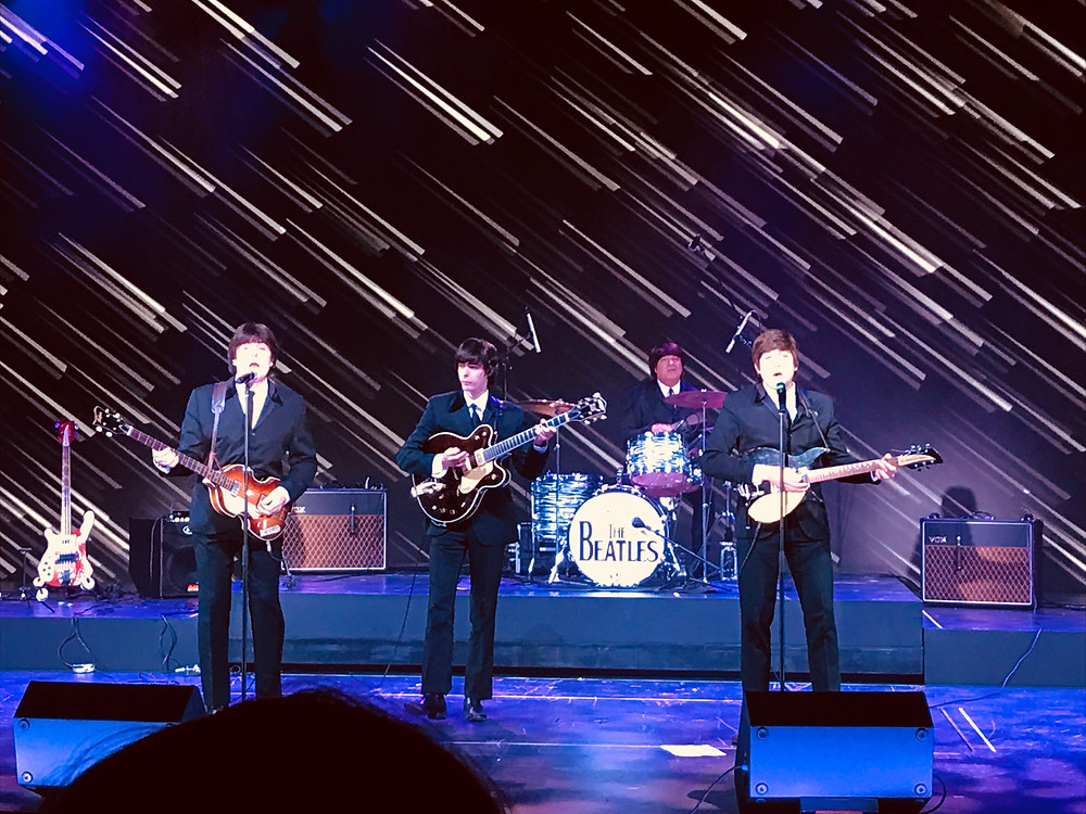 Beatlemania LIVE! on the Norwegian Bliss with Andrew Bockelman as George Harrison