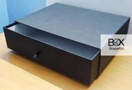 Cajas rígidas de calidad de cajón negro impresas