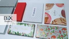 Cajas rígidas de calidad Embalaje impreso Bo