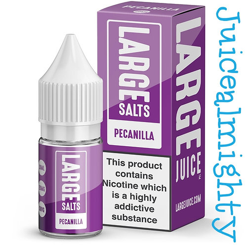 Large Salts Pecanilla 10ML (5mg nicotine)