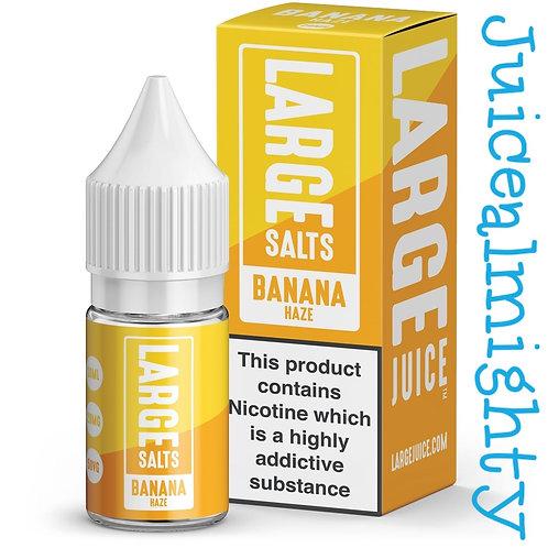 Large salts Banana Haze 10ML (5mg nicotine)