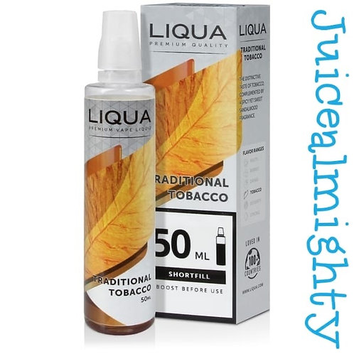 Liqua Traditional Tobacco 50ML