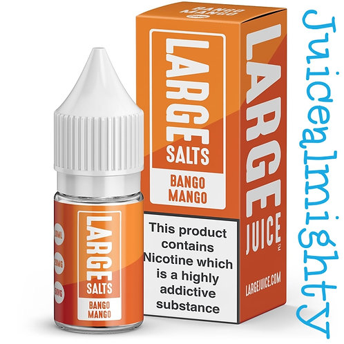 Large Salts Bango Mango 10ML (5mg nicotine)