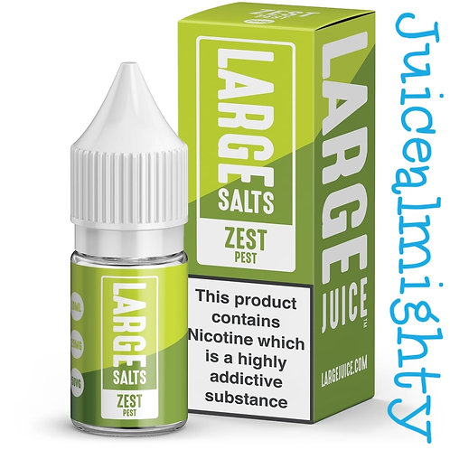Large Salts Zest Pest 10ML (5mg nicotine)