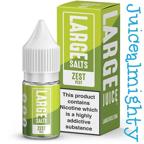 Large Salts Zest Pest 10ML (5mg nicotine)