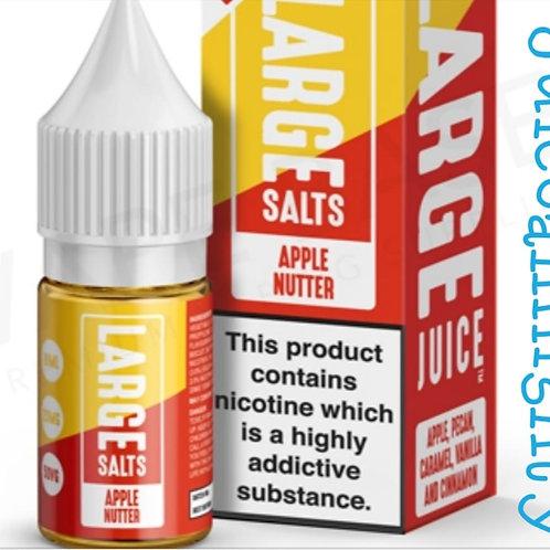 Large Salts Apple Nutter 10ML (5/10/20mg nicotine)