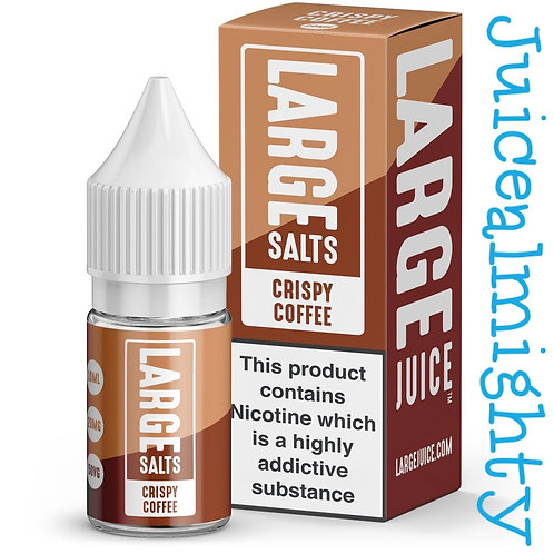 Large Salts Crispy Coffee 10ML (5mg nicotine)