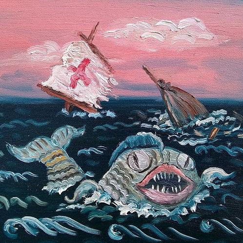 Fish Sea Monster