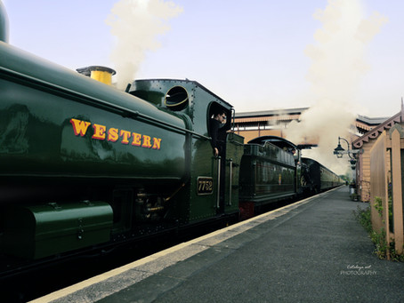 West Somerset Railway - Williton Station, Somerset, Great Britain