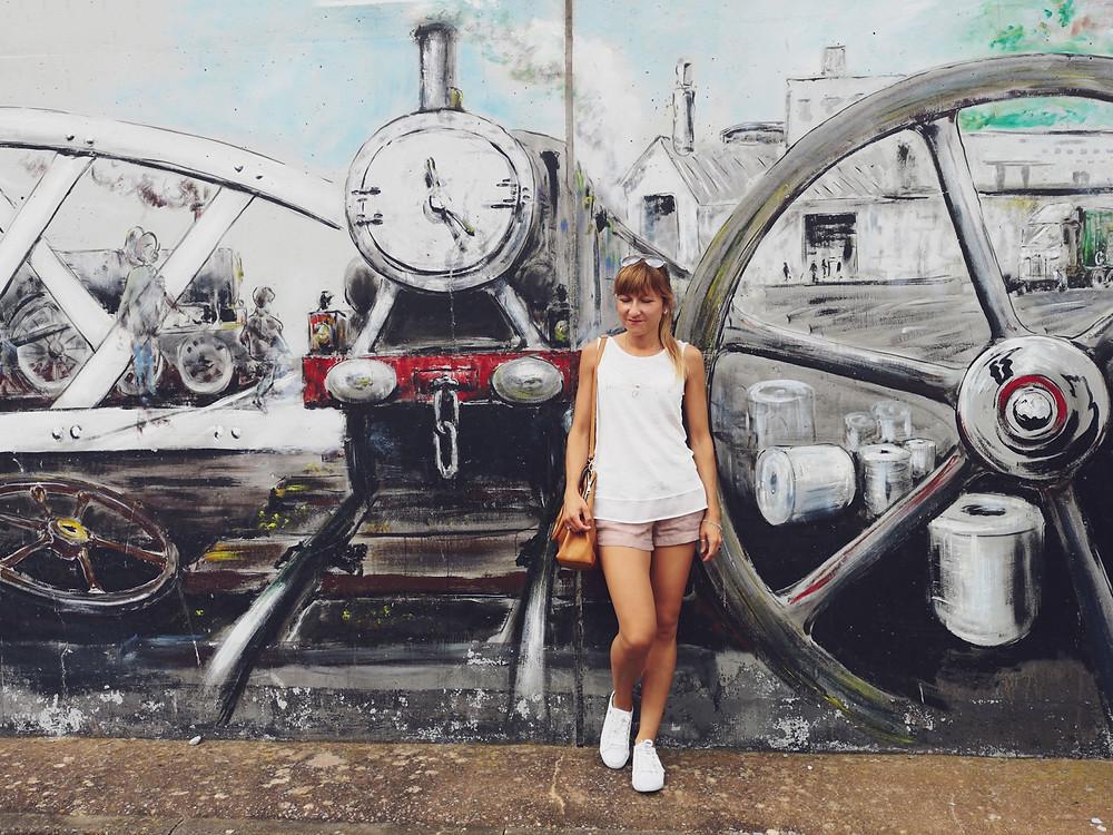 Watchet graffiti, England