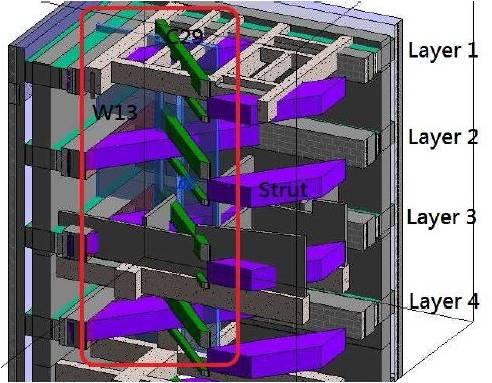 BIM - Basement - ELS vs Structure 2