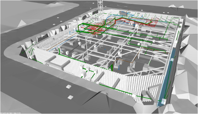 BIM for foundation design