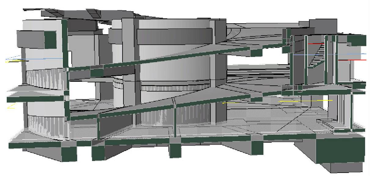 BIM - Podium - Car Ramp Design