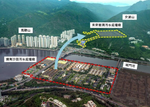DSD Relocation of Shatin Sewage Treatment Plant