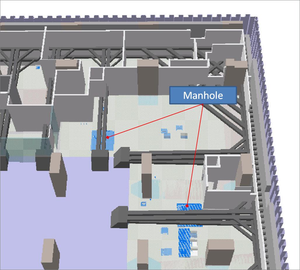 BIM - ELS structure vs Last manhole