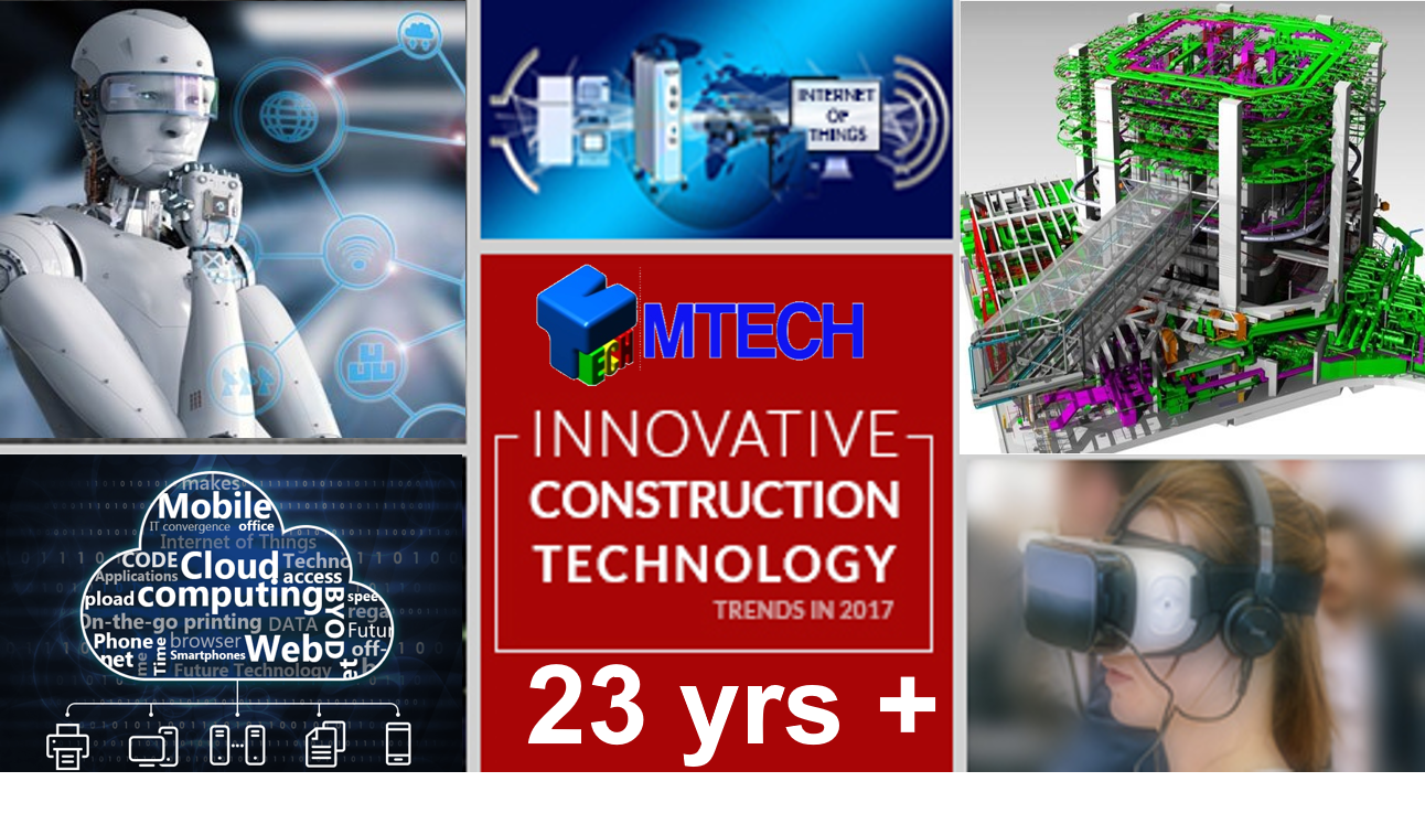 MTECH for Digital Construction