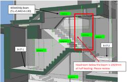 BIM - Staircase Headroom checking