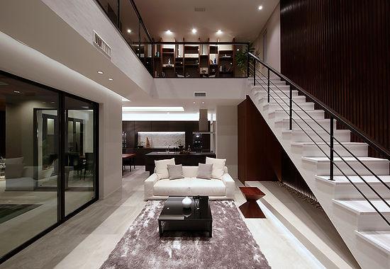 高崎なみえモデルハウス VILLA BREEZE ヴィラブリーズ 自由設計注文住宅 都市型デザイン分譲住宅 デザイン住宅
