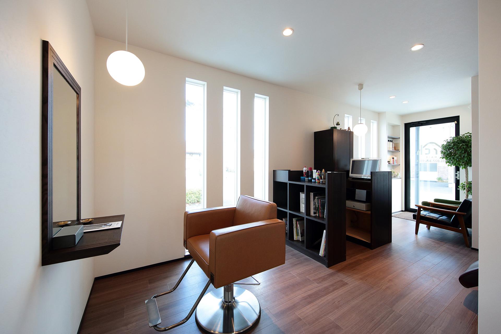 pw11_美容室を併設したリゾートハウス