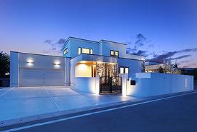ジョイホームデザインの施工例セレクション OurWorks-09 ウィーターガーデンのあるリゾート・ヴィラ、自由設計注文住宅、デザイン住宅、都市型デザイン分譲住宅
