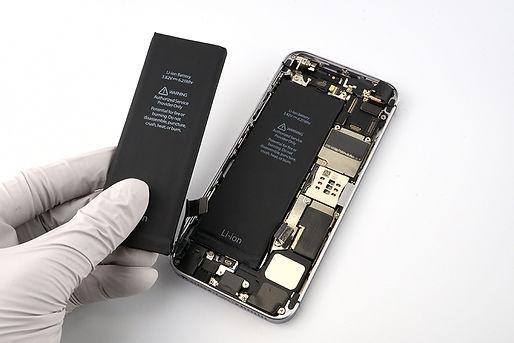 富山県のiPhoneバッテリ交換修理