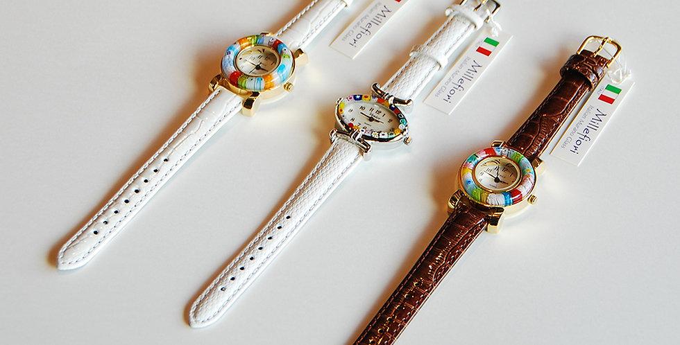 ベネチアングラス腕時計