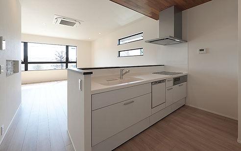 ジョイホームデザインの都市型デザイン分譲 システムキッチン