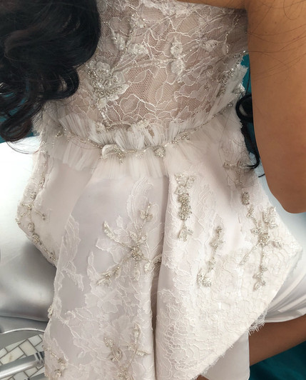 Custom Bridal Shower Dress
